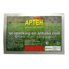 Custom printed grass seed bags grass seed packaging packet