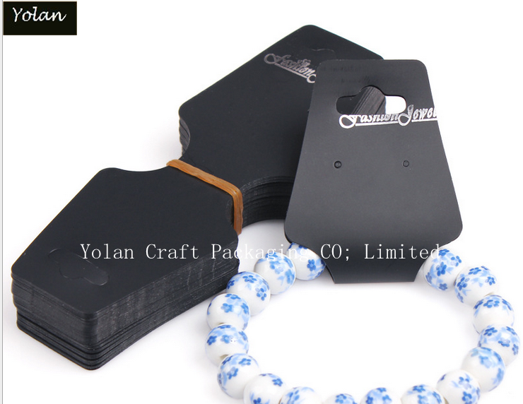 2016 NEW STYLE Custom necklace packaging cards