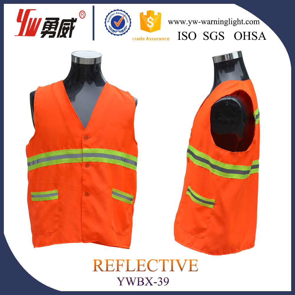 long sleeves working safety vest---