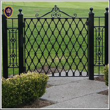 galvanized welded used wrought iron fence panels IFL-046