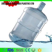 18.9L or 5 Gallon big bottle made by PC material water bottles for drinking spring water similar PET water bottles