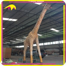 KANO3976 Hot Sale Battery Operated Life Size Exhibition Equipment Giraffe Model