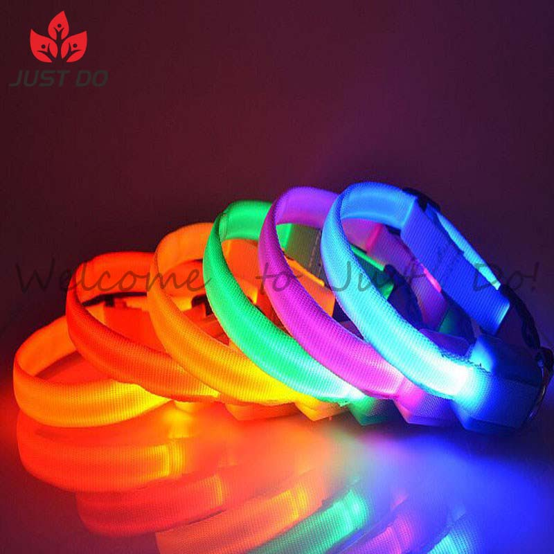 Cheap Puppy Pet LED Dog Safety Collar