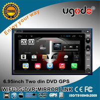HD RK PX3 ugode Quad Core Android 4.4.4 universal 2 din Car DVD player GPS