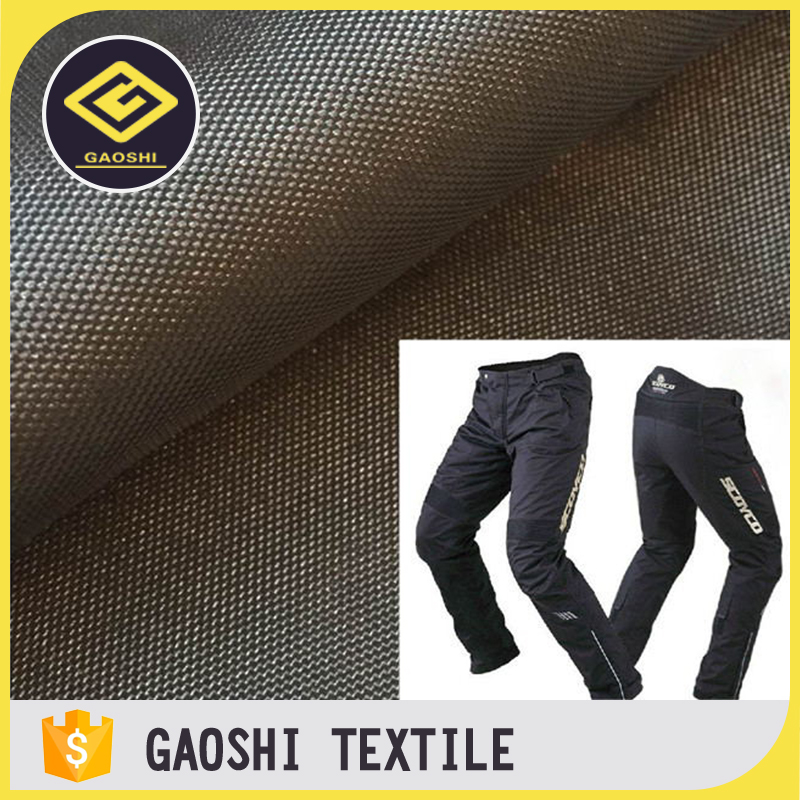 China Made Professional 100% Polyester 600D/900D PU Coated Oxford Fabric for Motorcycle Racing Pants