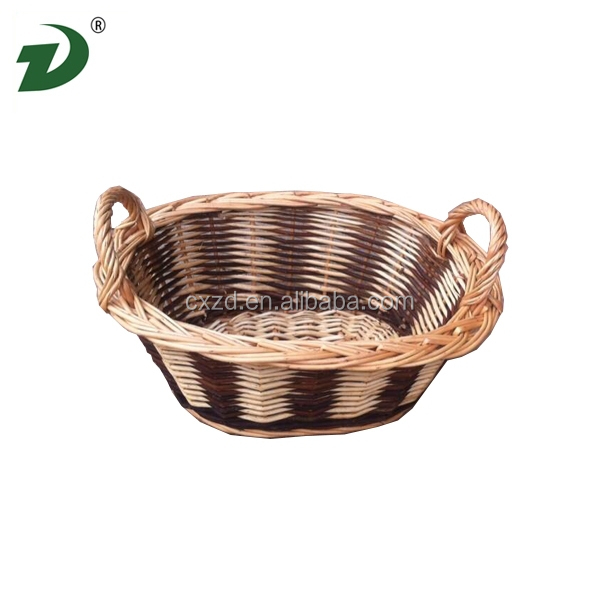 Caoxian new design of the unique style of Liu willow basket wholesale
