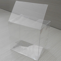Large Promotional China Supplier PVC box with logo printing Transparent box for food