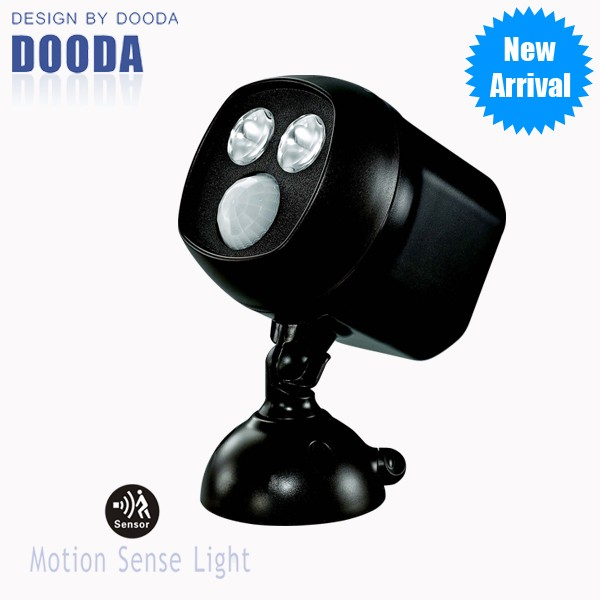 New Products Adjustable Lighting Angle Motion Sensor LED Light