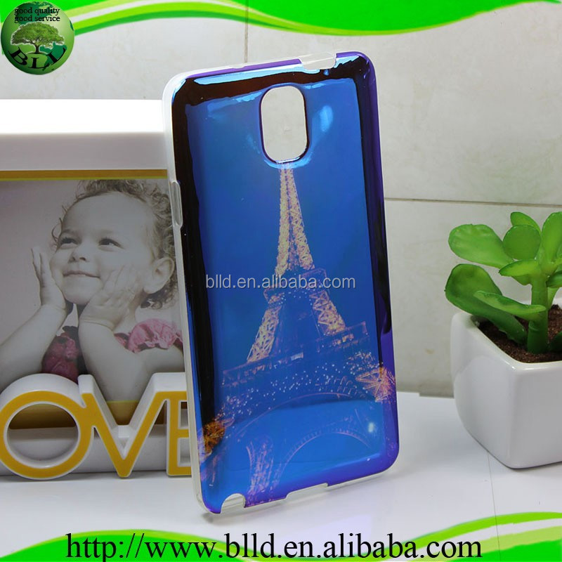 Customized Glossy TPU protective case for Samsung galaxy note 3