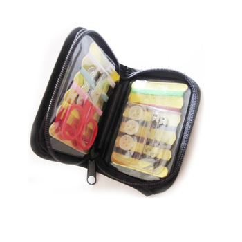 Promotional mini pocket travel sewing kit