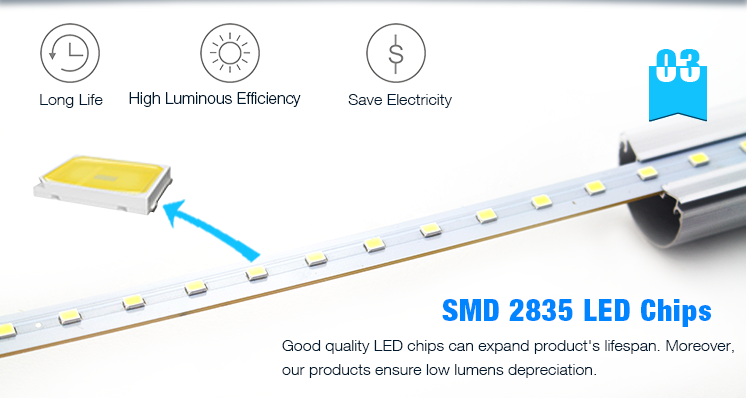 Factory best seilling aluminum led tube g13 4ft price t8 led tube lighting