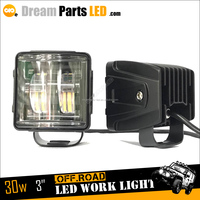 Motorcycle Accessories 4x4 Offroad 3inch LED Cars Light 30w Car Auto LED Headlight LED 6500K LED Head Light