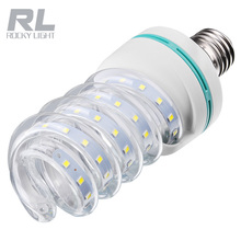 9w 12w 18w Spiral corn light
