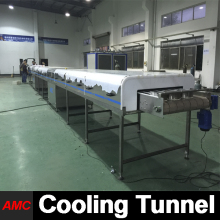 Quick Changeover And Cleaning Newest Process Technology Multifunction cooking bus Cooling Tunnel For Production Line