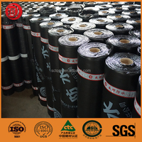 2mm Wet Installed Self Adhesive Waterproof Sheet Membrane