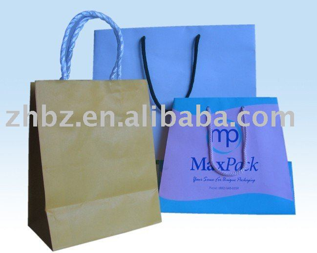 Christmas gift paper packaging bag