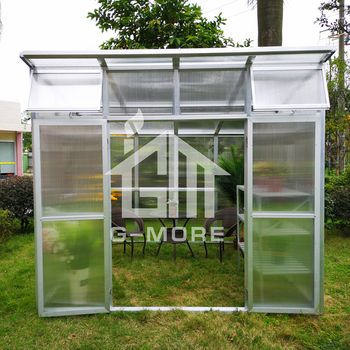 Balcony Commercial Used Prefabricated Greenhouse House Sale