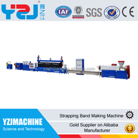 High speed pet pp strap production line