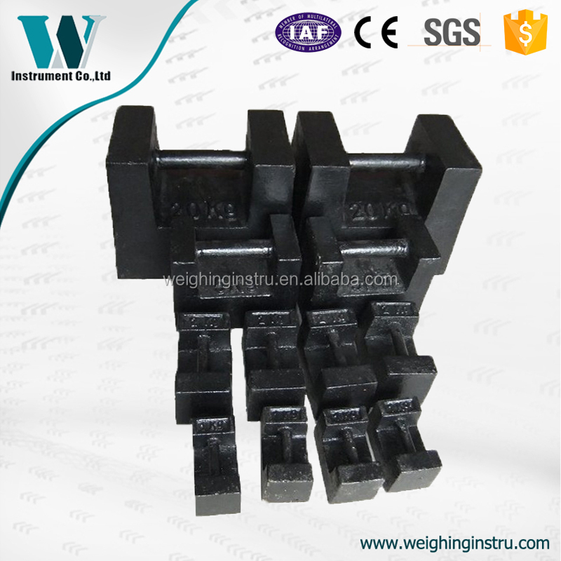 weight manufacturer 50kg test weights for crane load test