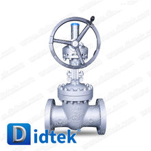 "Didtek WCB Rising Stem 8"" Gate Valve handles with Gear operated"