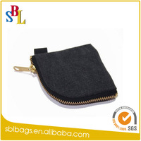 China Alibaba High Quality Canvas Small Pouch Holder Pouch Holder Coins Headphone Purse