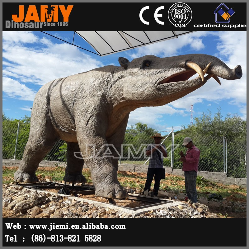 Fiberglass Elephant Model Life Size Animal Sculpture