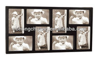 MDF Black Funny Face Wooden Photo Frames For Home Deco