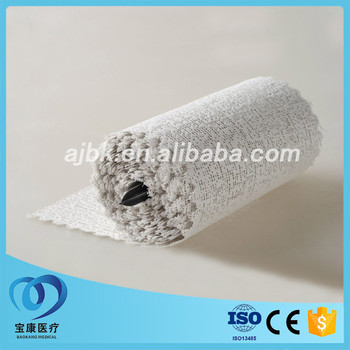 White OEM orthopaedic POP bandage