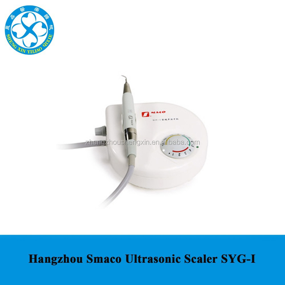 Dental Piezoelectric built in Ultrasonic Scaler Smaco SJY-I with Mectron Compatible Handpiece