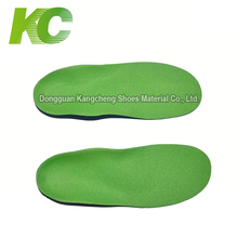 Fashion Removable PU Arch Support Orthotic Insoles For Flat Foot Shoes Making