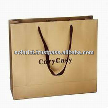 Cheap Paper Pizza Bags/ Paper Food Packing Bag/ Paper Wine Bag