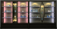 cosmetic display stand shop displays