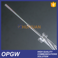 HUIYUAN 24 core opgw optical fiber power composite cable