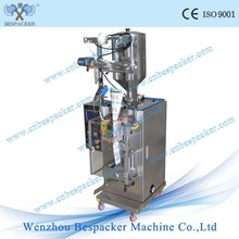 Automatic liquid water pouch filling sealing packing machine for triagle bag