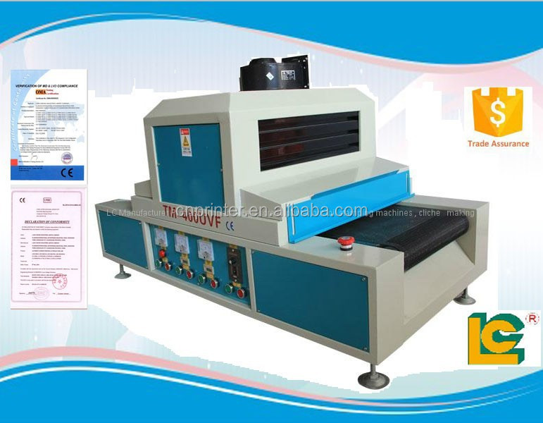 Semi-automatic UV varnish coating machine for furniture with high quality
