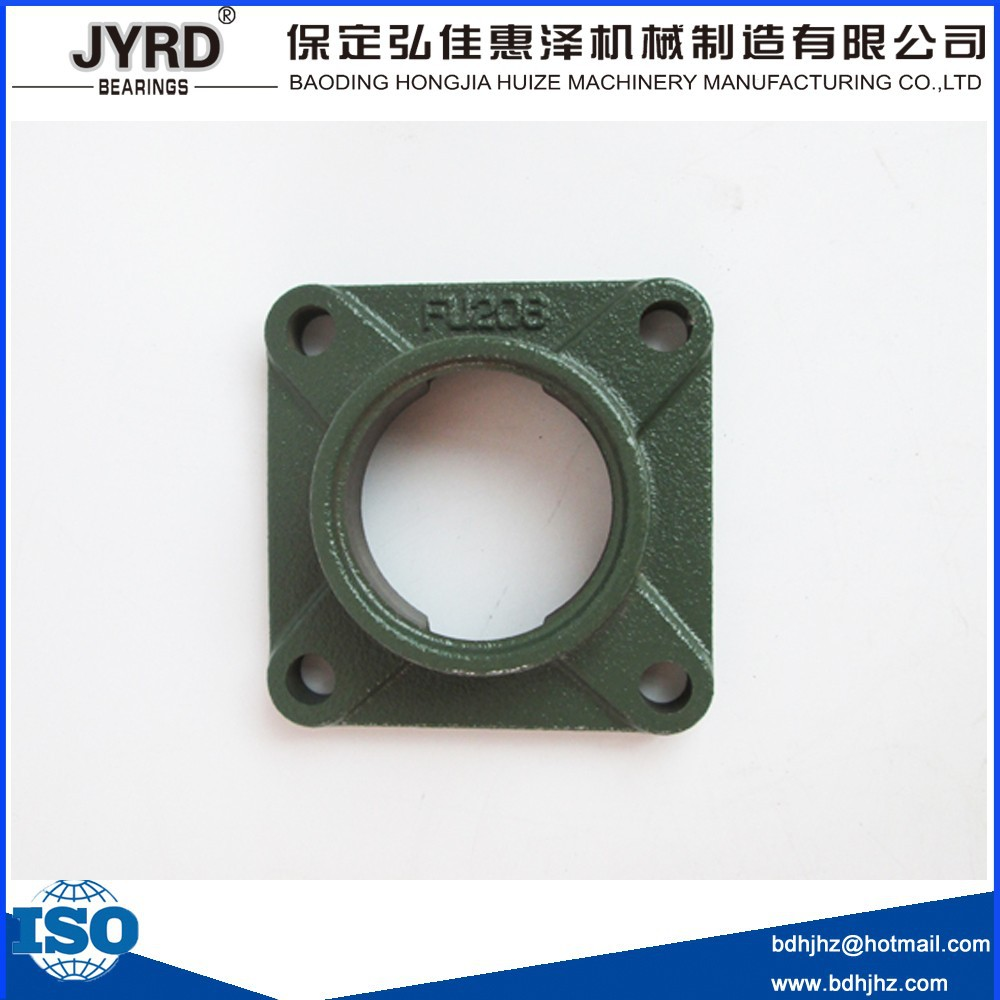 china factory thicken flanged bearing house fu208