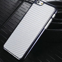 2015 Wholesale Newest Design Real Carbon Fiber back Case for iPhone 6, Factory direct sale Mobile Phone Accessories