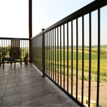 Competitive price rust free easily assembled metal deck railing