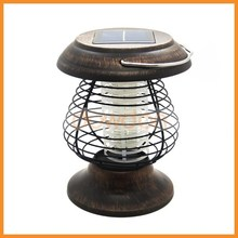 New Arrival Summer Stainless Steel Solar Rechargeable Mosquito Repeller