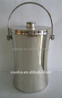 Top quality 2.0L Stainless Steel wine chiller metal vintage cooler