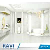 Wholesale Products 300X600 White Ceramic Bathroom Design Tile