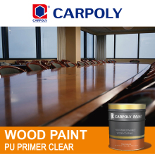 CARPOLY PU primer clear, High performance polyurethane coating, TD1240 Wood paint