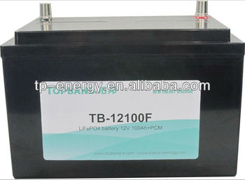 TOPBAND 12V 100AH motor tricycle battery