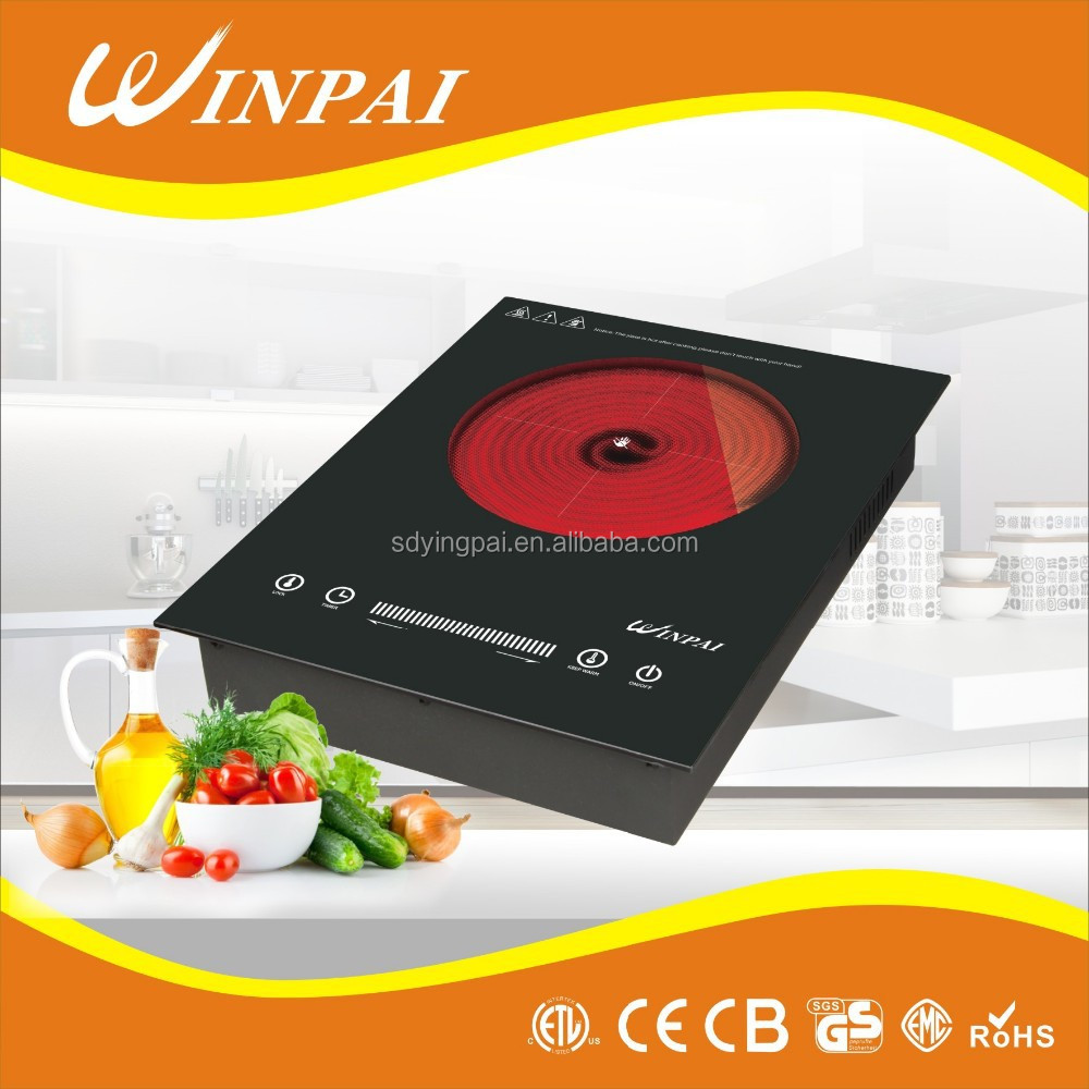 cast iron buit-in infrared cooker EGO heating element