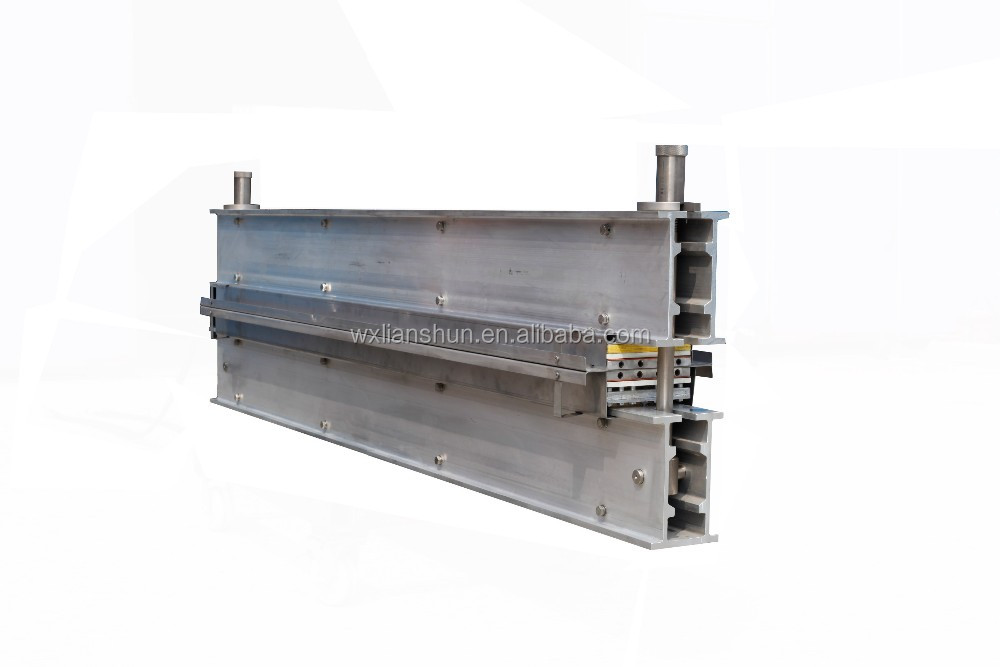 Lianshun conveyor belt hot joint splice vulcanizing machine with platen press