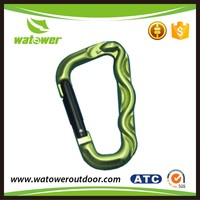 NBWT SGS certification colorful wholesale shaped carabiner