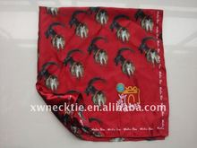 Customized High Quality Polyester Satin Printed Scarf