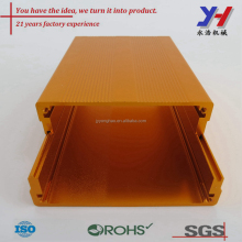 Customized aluminum extrusion enclosure/Aluminum heatsink anodized