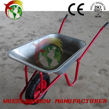 modern agricultural tools name sand spraying tool equipment and wheel barrow WB6404H