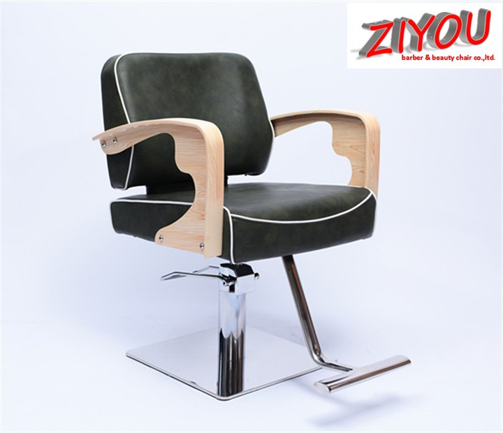 Hot sale oem popular red barber chairs barbershop